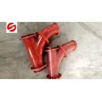 Best Ceramic Lined Lateral pipe Wye wholesale