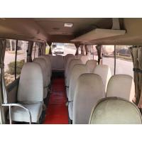 Best diesel / petrol 2015 2016 luxury mini coach used toyota coaster with 30seats for sale wholesale