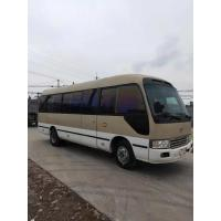 Best japan brand toyota coaster 30 seats diesel fuel second hand medium-sized bus 4x2 coaster on sale wholesale