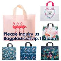 Best PE PP PVC SHOPPING BAGS, HANDLE BAGS, HANDY CARRIER BAGS, SHOPPER, SOFT LOOP FLEXI LOOP, DIE CUT wholesale