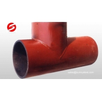 Best Ceramic lined composite Y-type Tee wholesale