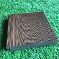 Best Durable Co Extrusion Wpc Decking , Bamboo Plastic / Wood Polymer Composite Decking wholesale