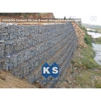 Best Defense Gabion Retaining Wall Hexagonal Wire Mesh with Galvanized Wire 2.7MM wholesale