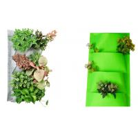 Buy cheap Hanging Garden Plant Accessories Planting Bags / Flower Pots Planter Outdoor Indoor 27x54cm Brown, dark grey or as reque from wholesalers