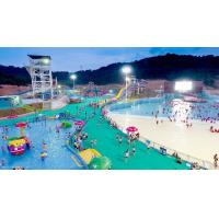 Best Interactive Giant Wave Pool Pressure - Type Wind Tunnel / Vacuum Device Making Waves wholesale