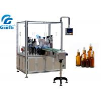 Best Rotary Essential Oil Bottle Filling Machine Single Nozzle Automatic Type wholesale