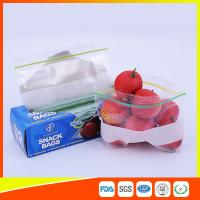 Best LDPE Transparent Resealable Press Zip Snack Ziplock Bags Air Proof For Packaging wholesale