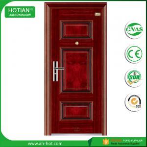 Best single door metal 2050*960mm steel security door ifor indian main gate designs wholesale