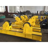 Quality Yellow 5T - 40T Tank Turning Rolls Vessel Pipe Welding Rollers wholesale