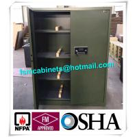 Best Fireproof Gun Storage Industrial Safety Cabinets , Gun Powder Storage Flame Proof Storage Cabinets wholesale