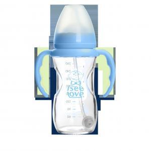 Best Popular Durable Infant Bpa Free Glass Baby Bottles For Newborns , 200ml Volume wholesale
