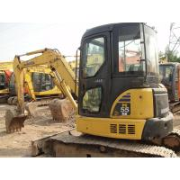 Best Komatsu PC55MR - 2 Second Hand Diggers12V Voltage With Rotation Pile 5160kg wholesale