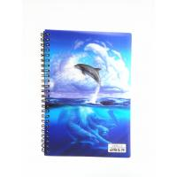 Cheap Flip A4 , A5 , A6 Size 3D Lenticular Notebook Cover For Wrinting for sale
