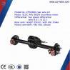 cq motor quality warrantee factory supply electric rickshaw/tricycle/car rear wheel axle
