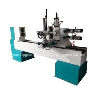 Best Turning Broaching Engraving Wood Lathe Machine with Double Axis Double Blade wholesale