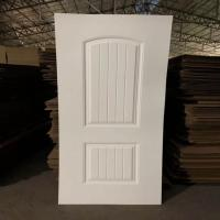 Environmental Friendly White faced Door Skin For Exterior House Decoration