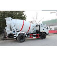 China High Efficiency 4x2 Concrete Mixer Truck 3-5 CBM With Right Hand Drive on sale