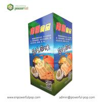 China Snacks Candy Promotional Cardboard Dump Bin For Retail on sale