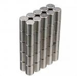 Best Neodymium Magnets Cylinder shape Permanent Neodymium Magnets By Strong Neodymium Iron Boron wholesale