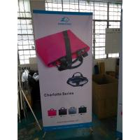 "Cheap Adjustable X Stand Banners Pvc Film With Grommets Long Life Printed  32"" X 70"" for sale"