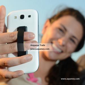 Cheap One Handed Anti slip for Tablet Phone Universal Mobile Phone Finger Holder for sale