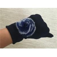 Cheap Warm Super Soft Phone Friendly Gloves , Texting Winter Gloves With Smart Touch  for sale