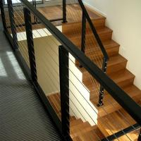 Best Baclony Railing Design Stainless Steel Cabling Railing System Balustrade Post wholesale
