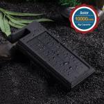 Best Flashlight Solar Panel Power Bank For Mobile Devices / Rain Proof Usb External Power Bank wholesale