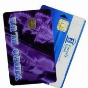 Best PVC Contact Smart Chip Cards (Chip 4442), Measures 86x54x0.84mm wholesale