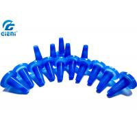 Best Lightweight Cosmetic Lipstick Mold Silicone Lipstick Mould Blue Color Small Size wholesale