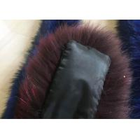 Cheap Raccoon Fur Neck Collar Scarf For Coat Hood , Windproof Raccoon Fur Pelt  for sale