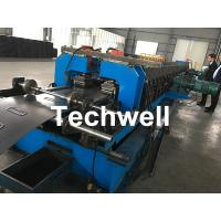 Best 1.5-2.5mm Carbon Steel Cable Tray Roll Forming Machine With 5 Ton Hydraulic Uncoiler wholesale
