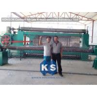 Best Galvanized Gabion Production Line With Accurate Mesh With PLC Control System wholesale