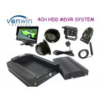 Best 3G HD HDD Rugged Mobile DVR hidden security cameras system for Taxi management wholesale