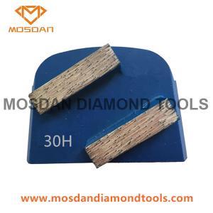Best Lavina Quick Change Concrete Floor Diamond Grinding Double Bars Segment wholesale