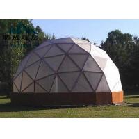 Best Flame Retardent Large Dome Tent , Dome Event Tent For Outdoor Camping wholesale