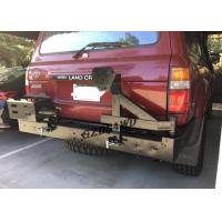 Best Rolled Steel 4x4 Rear Bumper With Spare Tire Holder For 92 - 97 Land Cruiser FJ80 Series LC80 LX450 wholesale