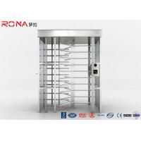 Best 120 Degree Single Channel Full High Turnstile High Security 20 -30 Persons / Minute wholesale