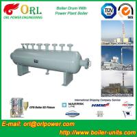 Best Coal Fired Boiler Mud Drum Boiler Equipment Hot Water Steam Output wholesale