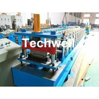 Best HRC58-62 Hardness Standing Seaming Roofing Panel Machine For Making Roof Wall Cladding , Roofing Sheet wholesale