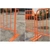 Best Steel Construction Crowd Control Fencing Panel , Crowd Safety Barriers wholesale