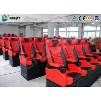 Best Pu Leather Imax Movie Theater , Electronic Dynamic 4DM Motion Chair 4D System wholesale