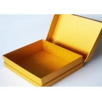 Best Yellow Antique Lamination Printed Gift Boxes With lids For Clothes wholesale
