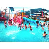 Best Fiberglass Kids Water House Playground Inside Water Parks With Pump wholesale