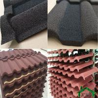Best Building Material Stone Coated Metal Shingles Zinc-Aluminum Coating And Stone Chip wholesale