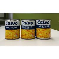 Best Calvo Brand Canned Sweet Corn Maiz Dulze Net Weight 241g for Central America wholesale