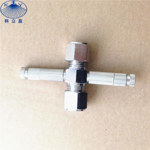 China High pressure metal sliplock , thread type misting nozzle fittings on sale