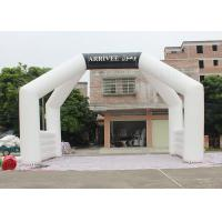 Best White Custom Inflatable Arch Double Stitch Sewing For Event Advertising wholesale