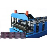 Best CE Glazed Tile Sheet Metal Roll Forming Machines , Roofing Sheet Making Machine wholesale