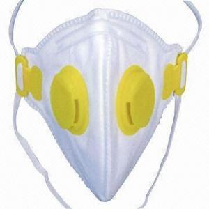 Best Safety Dust Mask/Respirator, CE-certified, FFP1, FFP2, FFP3, N95, N99 Standards, with Valve wholesale